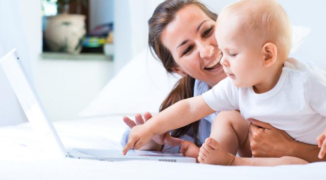 Práca popri materskej